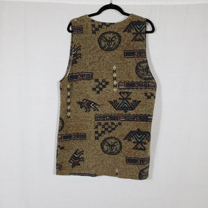 Chico's Jackets & Coats - CHICO'S/ Native American Symbol Vest Size L